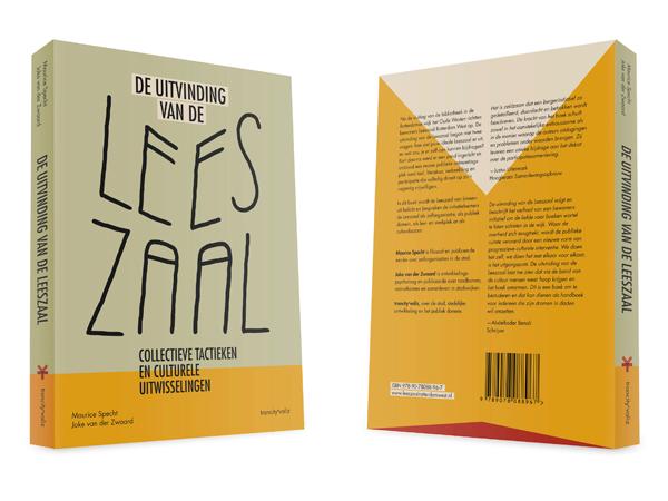 Boekontwerp 'De uitvinding van de Leeszaal, Collectieve tactieken en culturele uitwisselingen.