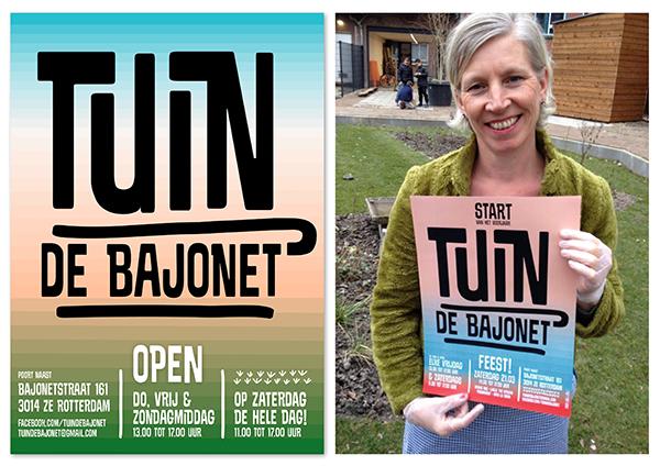 Tuin de Bajonet, Oude Westen Rotterdam