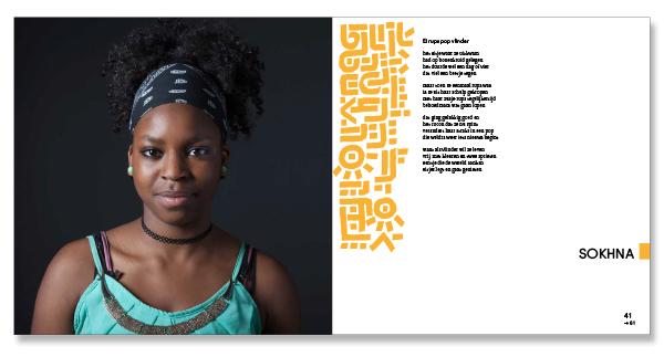 Ontwerp Boek Portret van mijn klas