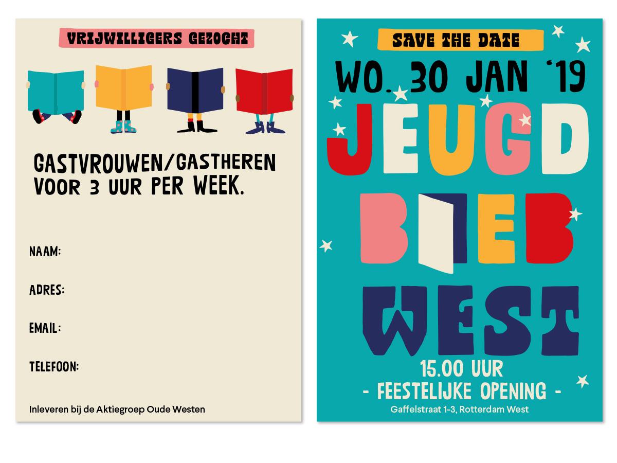 Jeugdbieb West, Oude Westen Rotterdam