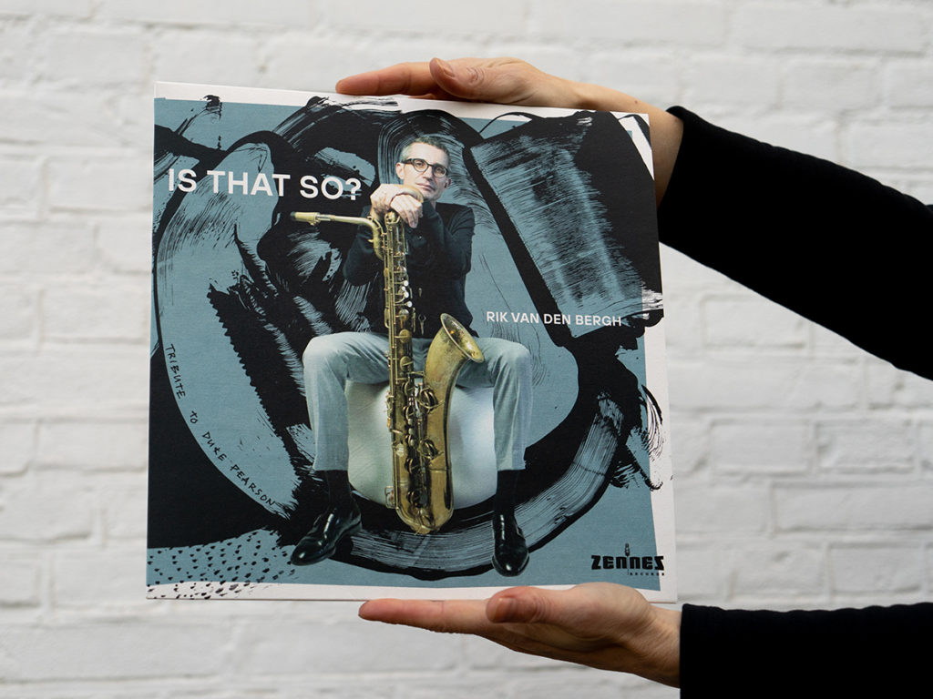 Ontwerp Jazz LP Is That So?