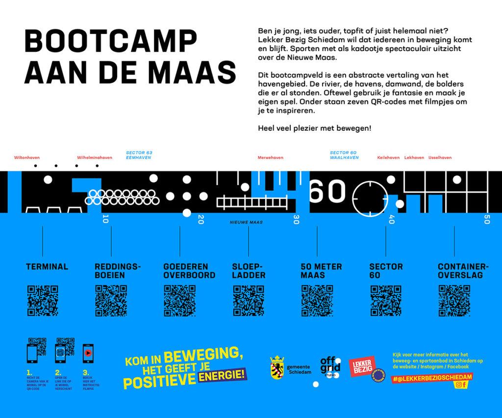 Bootcamp aan de Maas, Maasboulevard Schiedam, Lekker Bezig Schiedam